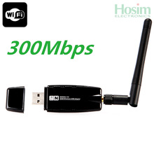 Best Price!! 1pcs 300Mbps 300M USB Wireless WiFi Adapter WiFi Network Lan Card & Networking Accessories Free Shipping Wholesale(China (Mainland))