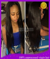 Good quality human hair wigs,150% density Straight full lace human hair wigs, lace front wigs & full lace wigs free shipping