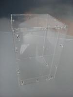Acrylic reptile terrarium 23cm*23cm*35cm