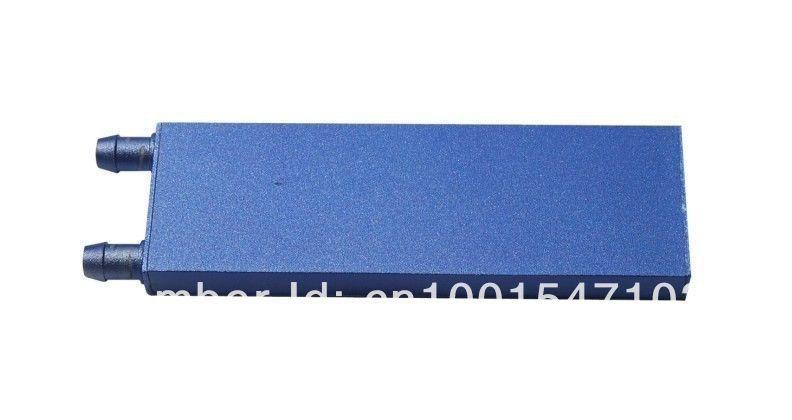 122 * 41 * 12 milímetros de água de alumínio de refrigeração do bloco para CPU pc qualidade gráfica do radiador do dissipador de calor(China (Mainland))