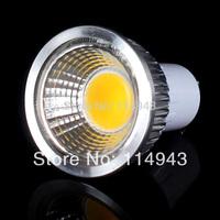 1pcs Ultra Bright 3W 6W 9W 12W GU10/E27/GU5.3/E14 Led Spotlight COB Bulb Lamp Silver/Black Housing AC85-265V