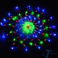 Outdoor Garden Colorful 120 LED Net Lights Christmas Holiday Decorations Light 220V EU  Iluminacion de Navidad Decoraciones Luz
