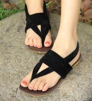 Free Shipping 2014 Women Flat Heel Flip-Flop Flip Casual Sweet Sandals For Woman Shoes KL235