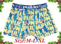 Free Shipping Stock Cheap Brand Pull In 2014 Underwear Men's Briefs Underwear