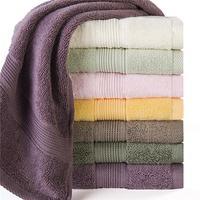 Free Shipping!!  3pcs/Lot 100% Cotton Towel Muti-color Face Towel 34*80cm