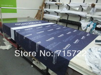 Polyester fabric outdoor banner