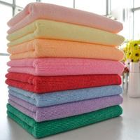 Free Shipping!! 10pcs/Lot  Microfiber Fabric Towel  35*73CM    50g     BL-006