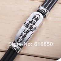 Fashion Leather Bracelet For Men Skull Bracelet Cross Bracelet Men Bangle Men Jewelry Free Shipping