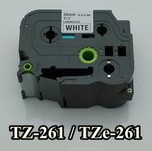 36mmX8m TZ-261,TZe261 For TZ tape TZ261 (TZ-261) Compatible P-Touch Tape PT-1000 label maker