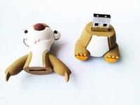 sale 100pcs Promotion Newest cartoon toy cute bear USB 2.0 flash drive 8GB 16GB 32GB USB 2.0 Memory Stick,usb flash disk