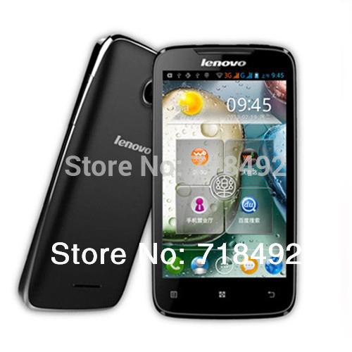 Lenovo originale a390t dual core Android 4.0 ram 512mb 3g gsm dual sim multi languag cellulare wifi
