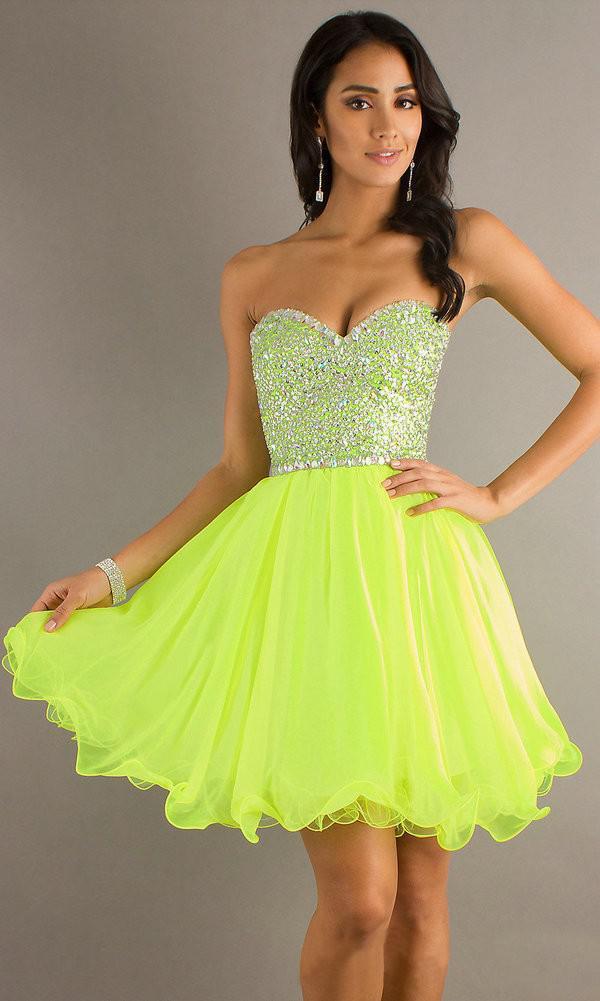 Short yellow semi formal dresses – Dress online uk