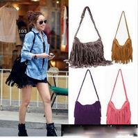 2014 New TASSEL CROSS BODY BAG SHOULDER BAG WOMEN MESSENGER BAGS Free shipping