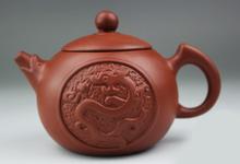 Pure Handmade 140ml Dragon Yixing Purple Clay Teapot Purple grit Kung Fu Tea Pot Xi Shi
