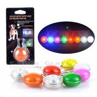Pet Dog LED Clip-on Tag, Pet Safety Light Pendant , Pet Dog Cat  Flashing Tags Free Shipping