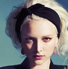 New South Korea Rabbit Ears Headscarves Headbands Fashion Rabbit ear Headscarf Headbands For Women Hair Accessories