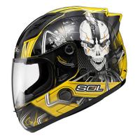 Sol motorcycle helmet 68s 2 motorcycle helmet automobile race helmet