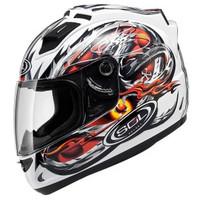 SOL 68s motorcycle helmet with LED lighting automobile race helmet