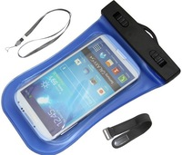 PVC Waterproof Diving Bag For Mobile Phones Underwater Pouch Case For iphone 4/4s/5/5s For samsung galaxy s3/s4 With Armband