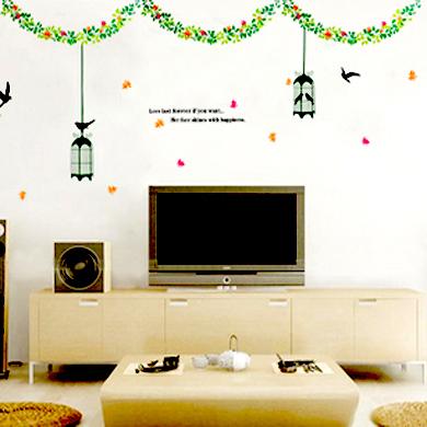 Online kopen wholesale schilderen vogelkooi uit china schilderen vogelkooi groothandel - Muur deco volwassen kamer ...
