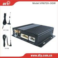 DTY VR8720-3GW 4 ch security system DVR GPS/3g /WiFi