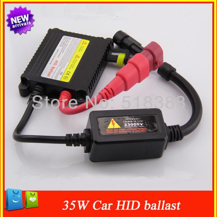 Car Acessórios 35W DC 12V para lâmpadas dos faróis de xenon HID Ballast Car Motor Para Xenon Luz H7 H1 H3 H4 H7 H8 H9 H11 9005 9006(China (Mainland))