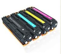 Compatible HP 200 laser printer toner cartridges CKMY CF210A CF211A CF212A CF213A