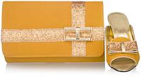 Free shipping women pumps,italian design shoes and matching bags ,brown orange,SB8790