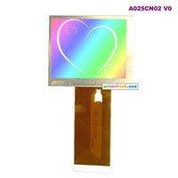Au auo2.5 lcd screen digital screen a025cn02
