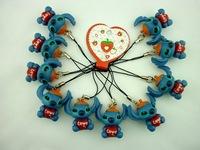 "4 Styles 20pcs/ set  kids toys Lilo Stitch Small TOY Collection Figure 3cm ""Elvis"" Figures"