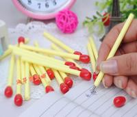 Stationery   School supplies Ballpoint Pens match matchstick  pen Multicolor