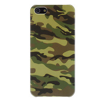 Camouflage Pattern PC Hard Case for iPhone 5/5S Free shipping