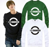 On sale Dancer waackin housejazz bboy hip-hop hiphop o-neck pullover sweatshirt HARAJUKU  hip hop sweatshirts