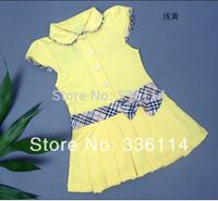 Summer Girls Dress 100%cotton Infant/Baby Girls Brand Polo Dress Children/Kids Princess tennis Dresses 5pcs/lot Free Shipping