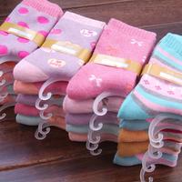 Platinum socks women's cotton loop pile socks winter thickening thermal loop pile socks winter socks