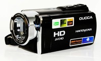"""DHL Free Shipping Digital Video Camera Photo HD Filmadoras With 3.0"""" TFT LCD 16 x Digital Zoom and Max. 12MP Pixels Resolution"""
