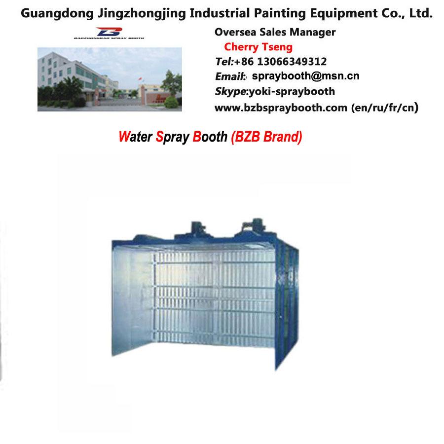water based paint spray booth bzb brand sprayboothmsncnchina. Black Bedroom Furniture Sets. Home Design Ideas