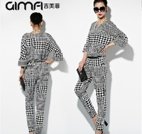2014  spring 2014 women's fashion jumpsuit and romper casual set bodysuits for women