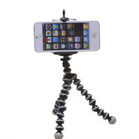 mini Octopus Tripod + phone Stand Holder for Camera Mobile iPhone 4 4S 5 Cellphone free shipping