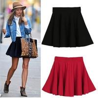 saias femininas2014 New jupe Summer Fashion  sheer skirts midi tutu skirt Womens Casual Mini skater Skirts Female faldas saia