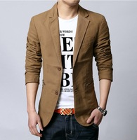 Men's Clothing suits for men  spring slim dishabille  male long-sleeve   outerwear  Blazers