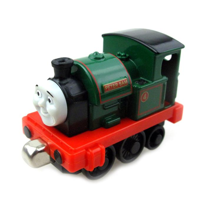 T0042 Diecast THOMAS and friend Peter sam The Tank Engine take along Magnetic train metal children kids toy gift rare(China (Mainland))