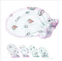 Soft Cotton Cute Infant Baby Kids Unisex Anti-scratch Handguard Mittens Gloves