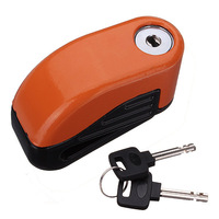 hot selling 10mm Security Motorcycle Motorbike Sturdy Wheel Disc Brake Lock Safety Alarm + key New