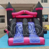 Monster high bounce house inflatable combo slide bouncer jumping jumper toys
