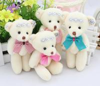 Packaging materials, packaging materials IELTS Bear bouquet, cartoon doll doll wholesale diamond teddy bear