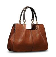 New genuine leather bag 2015 women handbag hot shoulder bag fashion vintage crossbody bag concave bolsas women messenger bag