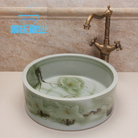Art basin counter basin wash basin wash basin ceramic jt-766