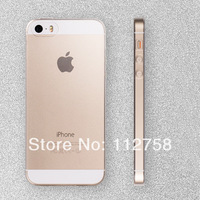 New 2014 fashion Ultra Thin 0.3mm Soft Transparent clear TPU case cover for Apple iPhone 5 5s phone cases for iphone5 5s