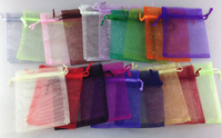 Free Shipping100pcs/lot Organza Bag 9x12cm,Wedding Jewelry Packaging Pouches,Nice Gift Bags 100pcs Random Colors 2014 All new